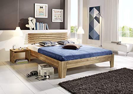 SAM ® Massivholzbett Bigoli Bed made of oiled wild oak 160 x 200 CM