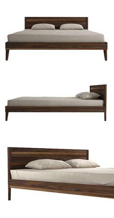 15 Best Modern Bed Frames images in 2019 | Log furniture, Bedroom