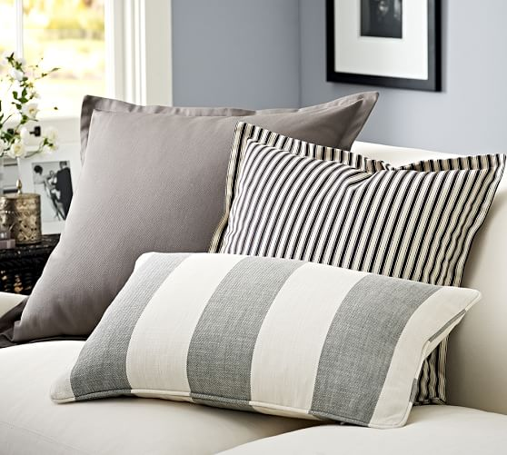 Custom Upholstery Fabric Pillow Covers | Pottery Barn