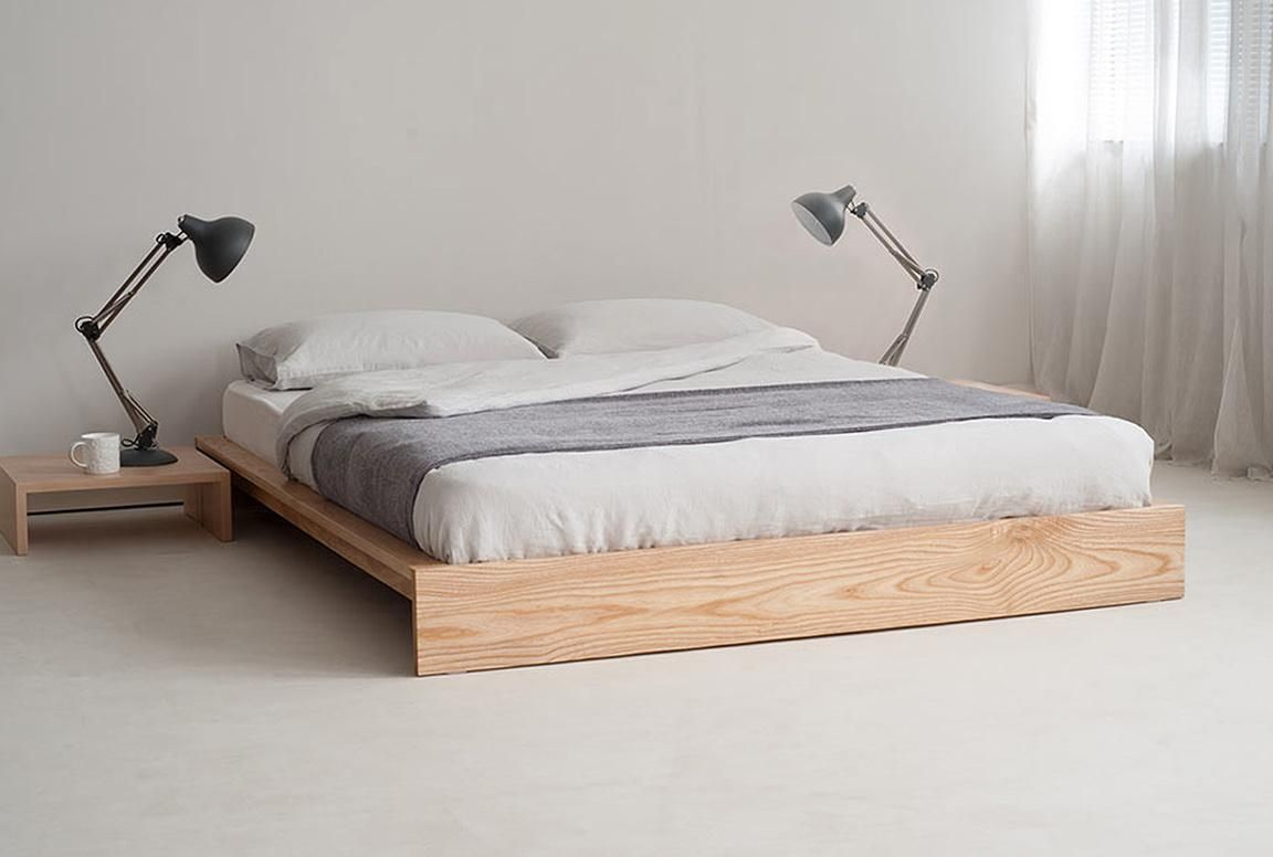 Ideas For Beds Without Frames Part 8 - Bed Frame Without Headboard
