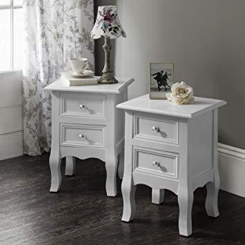 Laura James Sevenoaks AGTC008 Double Set of Two Bedside Tables