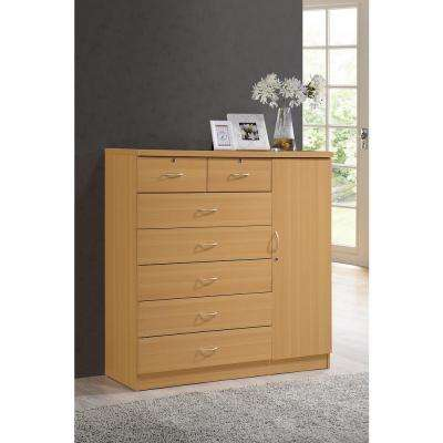 Chest of Drawers - 42 or Greater - Oak - Dressers & Chests - Bedroom
