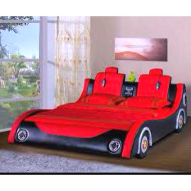 Adult race car bed, yes! | For the home | Race car bed, Bed, Car bed