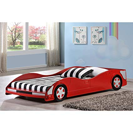 Amazon.com: Donco Kids Twin Car Bed in Red: Toys & Games