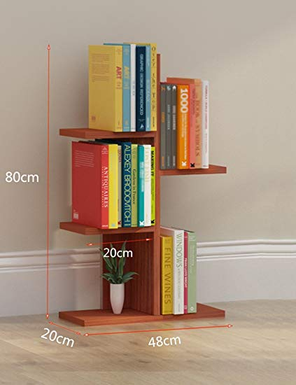 Amazon.com: Bookcase Simple Book Shelves Floor Landing Floor Storage