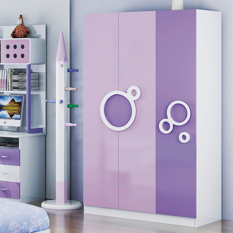 Online Shop Children's Wardrobes Children Furniture wood kids