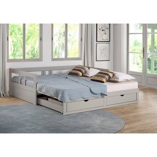 Children's beds with storage space and box