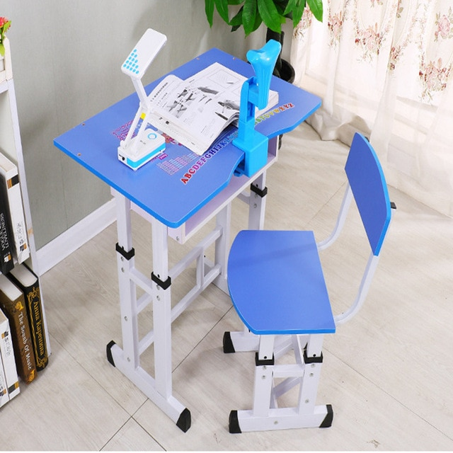 Child study table children's desks desks and chairs combination home