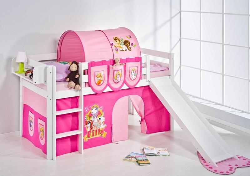 Kids loft bed with slide u2013 Design, Ideas, Photos - Rilane