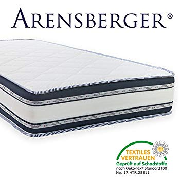 Arensberger Relaxx 9 Zone Wellness Mattress 3D-Memory Foam Height 25