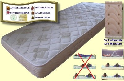 Best Price For Hypoallergenic Water-Cell Mattress Cold Foam 80 x 200