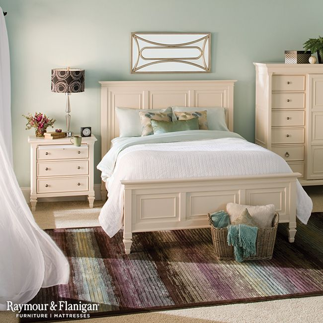 Somerset Queen Panel Bed | Summer Style | Bedroom, Coastal bedrooms