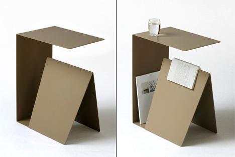 Habitual Bedside Table | Yanko Design