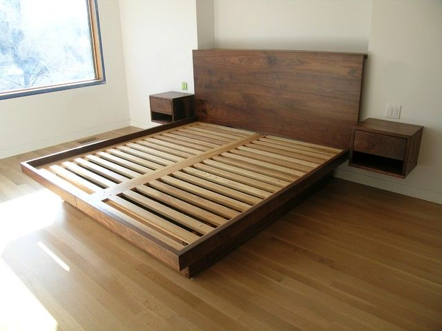 floating platform bed plans - Google Search | Ideas for dad