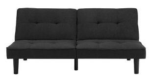 Futon Sofa Black - Room Essentials™ : Target