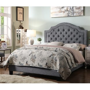 Grey Tufted Beds You'll Love | Wayfair