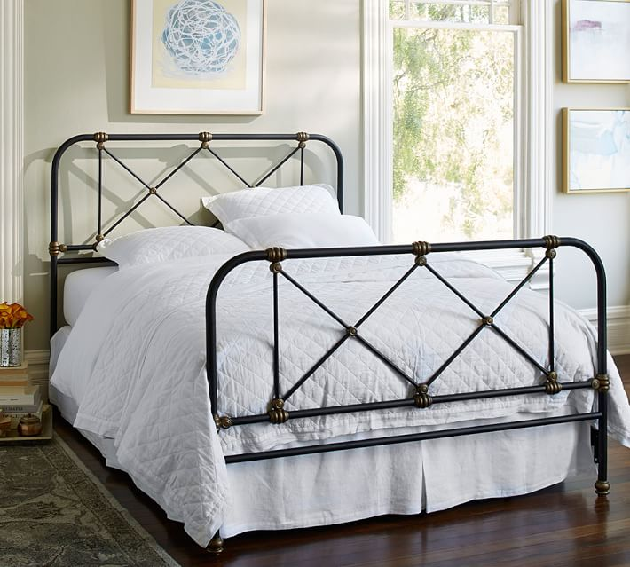 Atticus Iron Bed | Pottery Barn