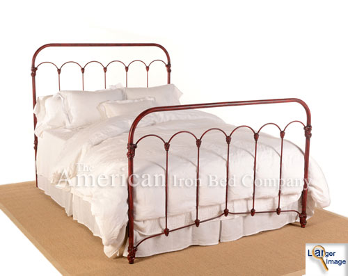 IRON BEDS, The American Iron Bed Co, Brunswick Iron Bed