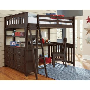 Bunk Desk Kids Beds You'll Love | Wayfair