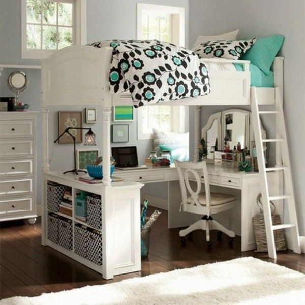 Awesome Loft Beds With Desk For Teens Resized | Loft | Bedroom, Room