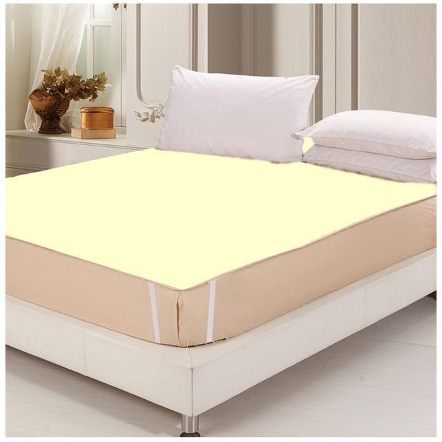 180*200 100% cotton waterproof bed sheets changing mat mattress