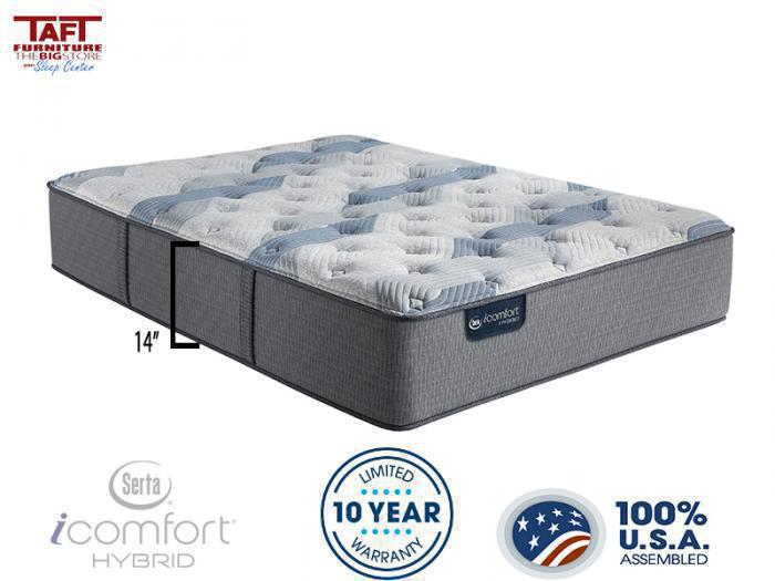 Taft Furniture & Sleep Center Serta iComfort Hybrid Blue 200 Fusion