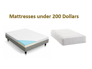 Top 10 Best Mattresses under 200 Dollars in 2019 - Complete Guide