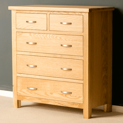 Solid Wood & Oak Bedroom Chest Of Drawers | 2-8 Drawer Chests
