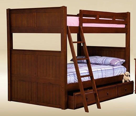 Dillon Black Full over Full Bunk Bed | LA & Orange County Furniture