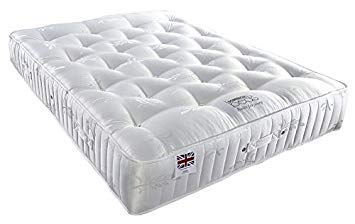Somnior 3000 Optimum Optimum 3000 Pocket Sprung Mattress for Independent  Supported Sleep, Microfibre, White