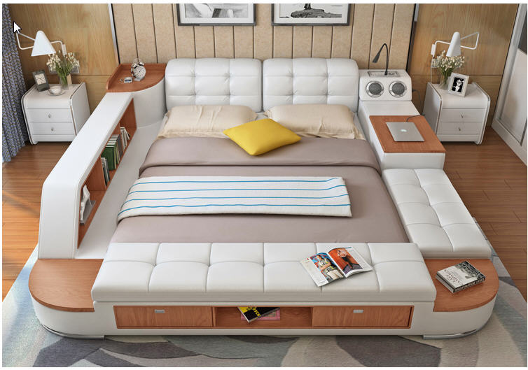 Real Leather Beds With Storage - Listitdallas