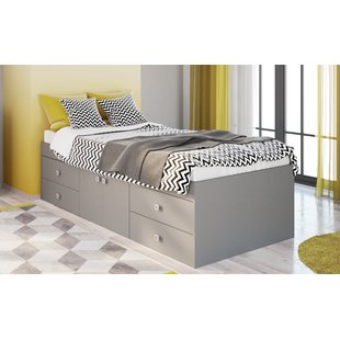 Camila Single Bed with Drawers