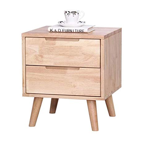 Amazon.com: SUN HUIJIE All Solid Wood Bedside Table Bedroom Oak Wood