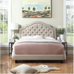 Tall Upholstered Bed | Wayfair