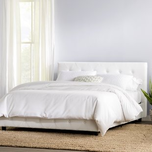 White beds