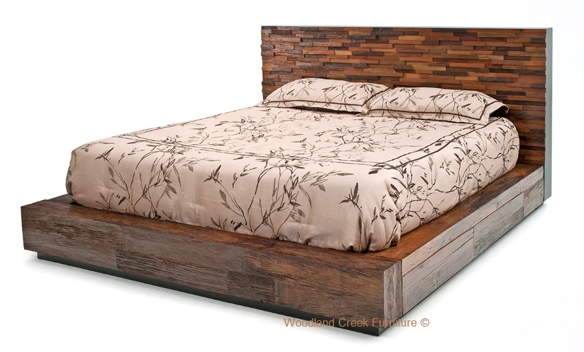 Environmentally Friendly Bed, Stacked Design, Platform