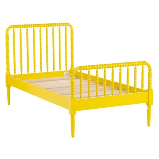 Twin Jenny Lind Bed (Yellow) in Beds | The Land of Nod | Kids