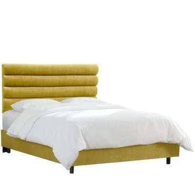 Queen - Yellow - Beds & Headboards - Bedroom Furniture - The Home Depot
