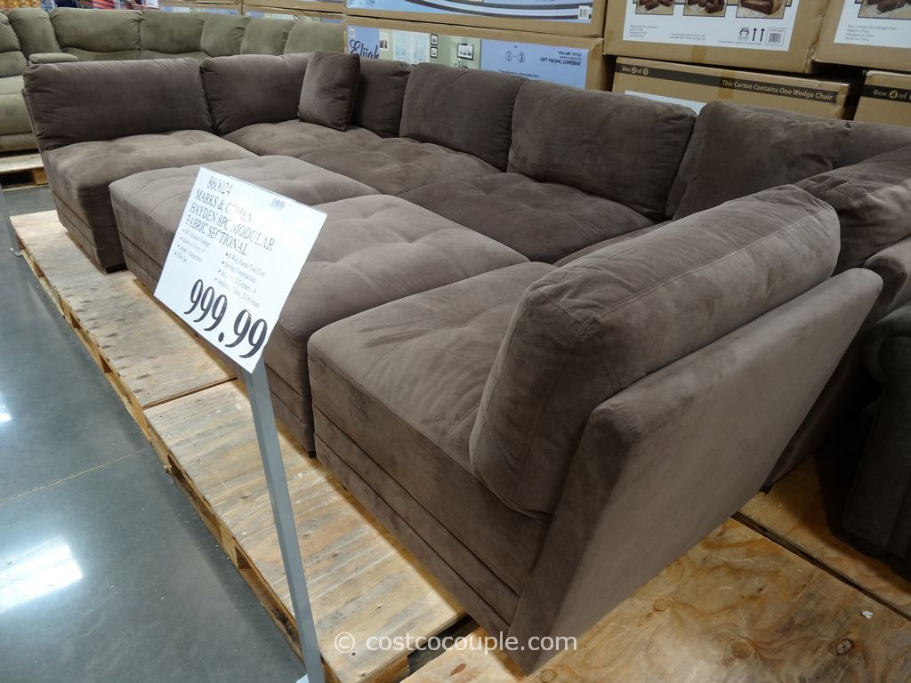 Marks and Cohen Hayden 8-Piece Modular Fabric Sectional Costco