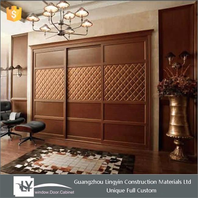 2015 Antique Design Bedroom Wooden Wardrobe Design In Dubai - Buy