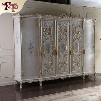 Classic Italian Antique Bedroom Furniture-royal Classic Wardrobe