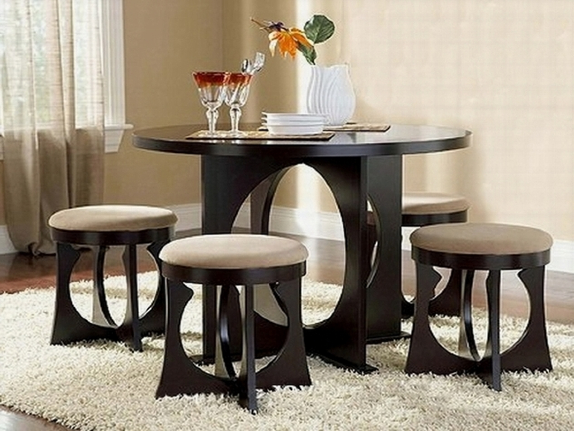 Great Ideas Dining Room Furniture Sets For Small Space Modern Sample  Designing Interior Collection