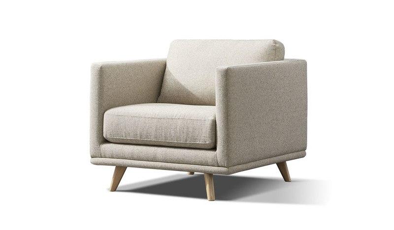 Oxley fabric armchair