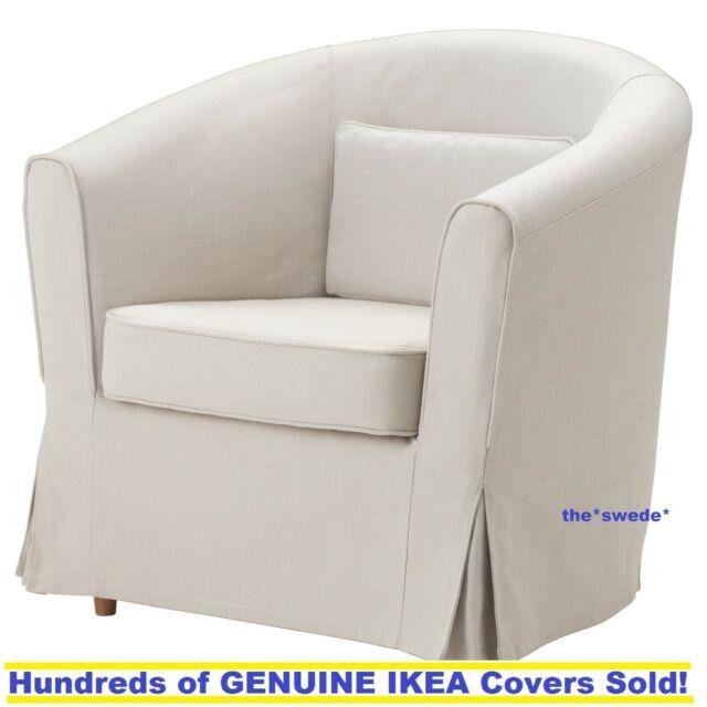 Ikea EKTORP TULLSTA Chair Armchair Cover Slipcover Nordvalla Beige New!  Sealed!