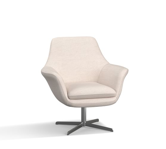 SoMa Jaxson Upholstered Swivel Armchair
