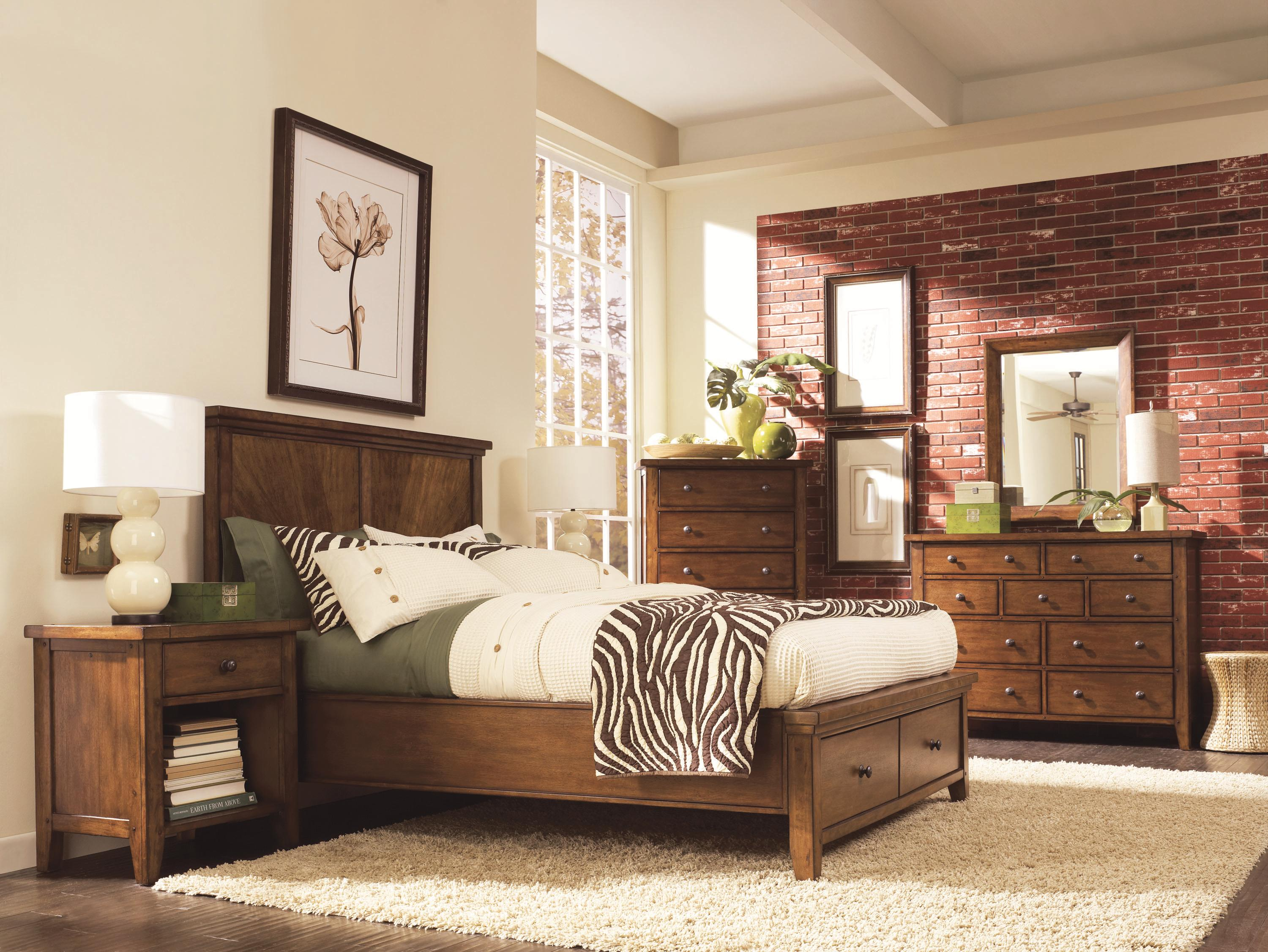 Aspenhome Cross Country Open Bookcase with Six Shelves | Wayside Furniture  | Open Bookcases