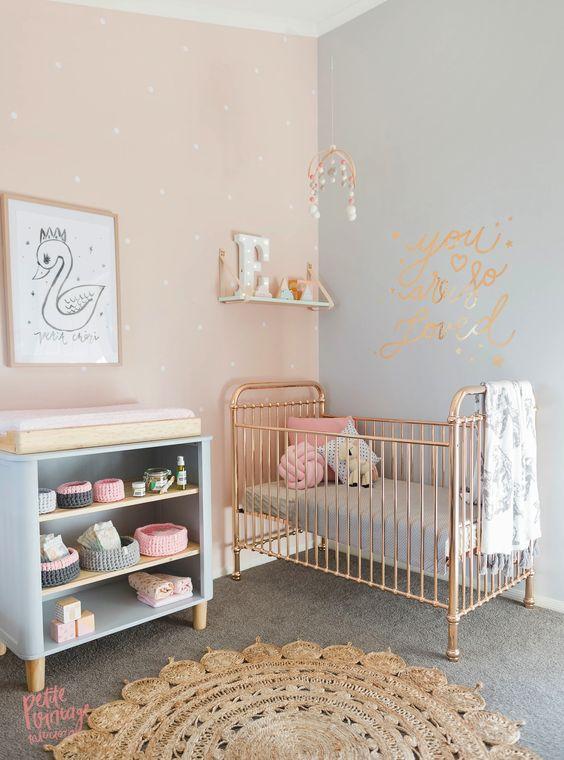 Simple Yet Elegant Baby Girl Room Ideas