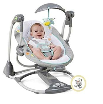 Traveller Location : Baby Swing 2 Seat Infant Toddler Rocker Chair Little Portable  Convertible : Baby
