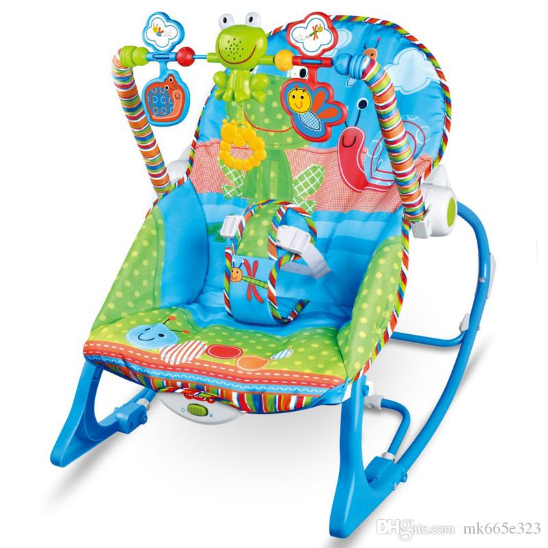 Baby Rocking Chair Musical Electric Swing Chair High Quality Vibrating  Bouncer Chair Adjustable Kids Recliner Cradle Chaise Accessories  Personalized Rocking