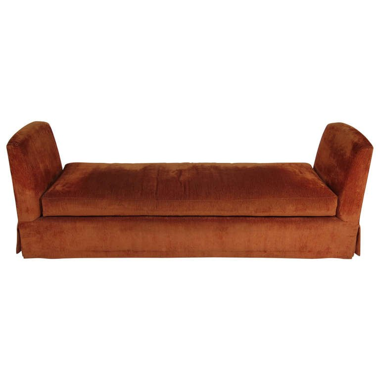Grand Scale Custom Backless Sofa/Daybed For Sale